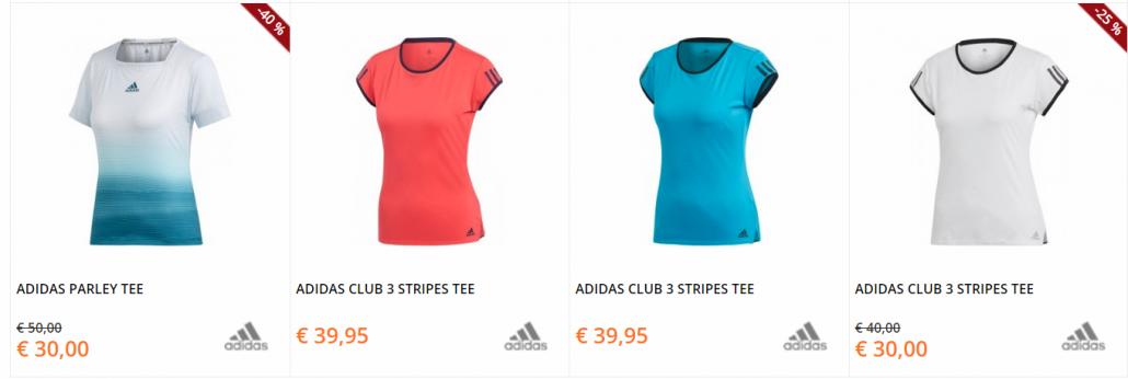 adidas tennisshirts dames