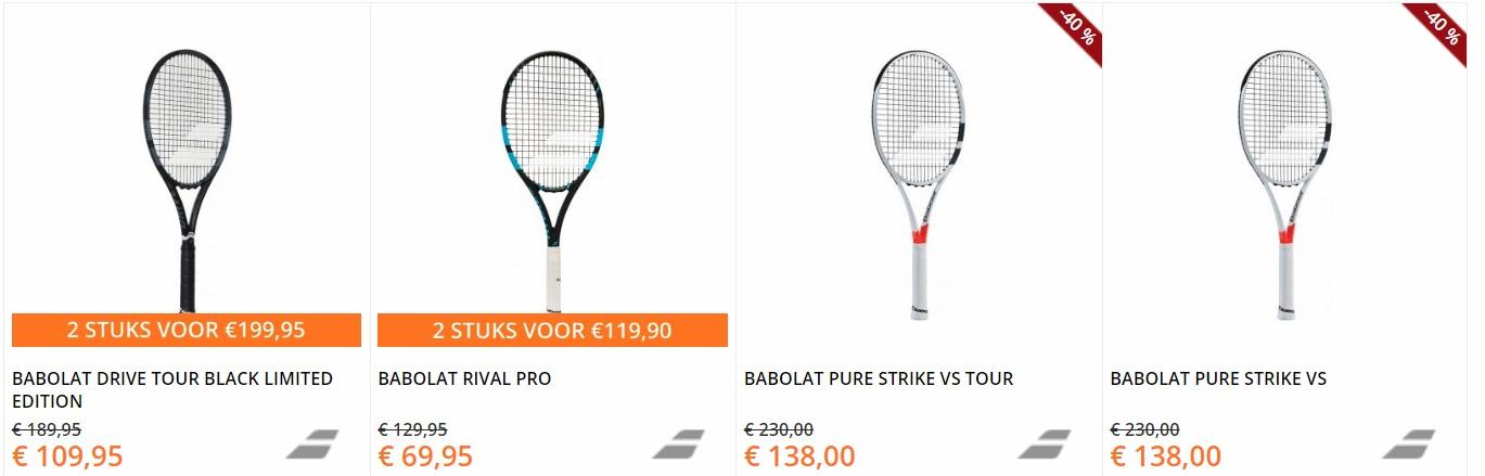 Babolat tennisrackets